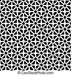 Pattern in black and white