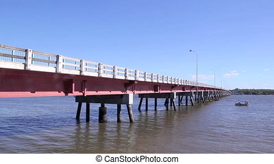 Bribie Island Bridge 3 - Bribie Island Bridge which spans...