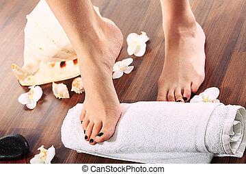 foot skin