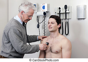 Patient Undergoing a Medical Checkup
