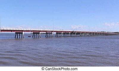 Bribie Island Bridge 4 - Bribie Island Bridge which spans...