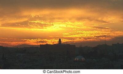 Jerusalem old sunset 2