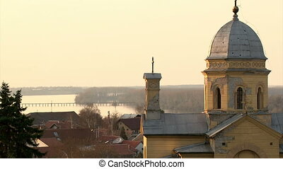 Serbia, Belgrade, Zemun, Church - Belgrade, Zemun, Church St...