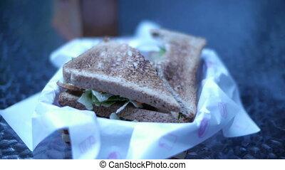 Sandwich Timelapse 2