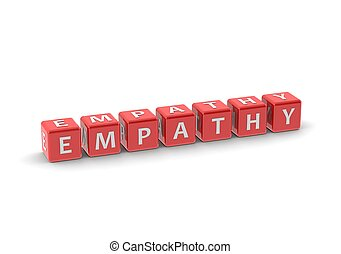 Empathy - Rendered artwork with white background
