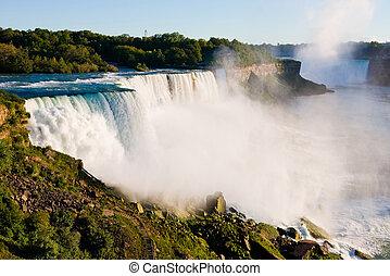 Niagara Falls in New York State