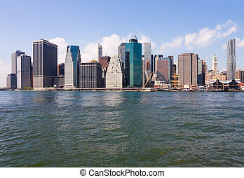 New York City - Manhattan skyline, New York City