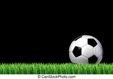 futbol, deporte, concepto