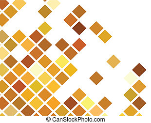 the vector golden abstract background