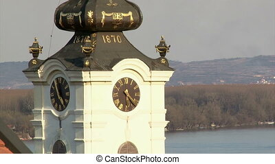Tower clock, Belgrade Zemun, Serbia