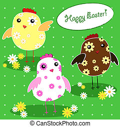 background with holiday Easter