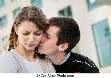 Relationship problem - couple portrait - Relationship...