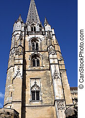 Church tower - Tower from the Cathedral of St-Marie in...
