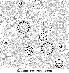 Fancy with circle pattern