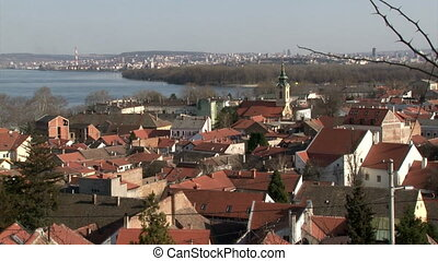 Serbia, Belgrade, Zemun, Danube