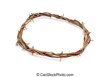 crown of thorns - a representation of the crown of thorns of...