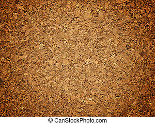Cork pattern usable for a background and wallpapers