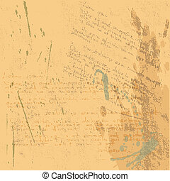 the vector abstract grunge background