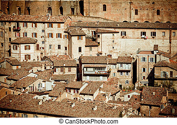 Medieval town Urbino, Italy