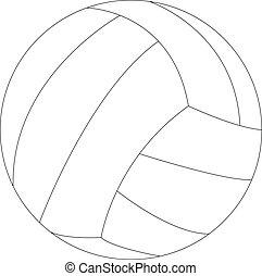 handball ball - Illustration of handball ball - vector