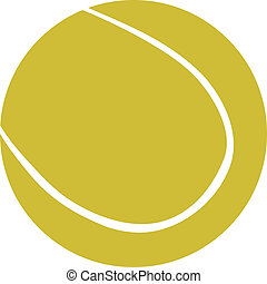 tennis ball - Illustration of tennis ball - vector