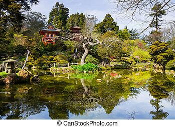 Japanese Tea Garden in San Francisco