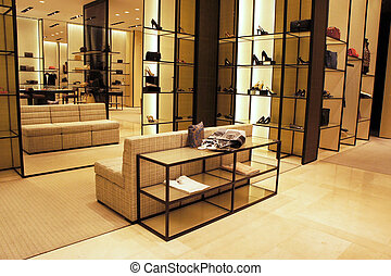Boutique shop - Interior decoration of boutique shop