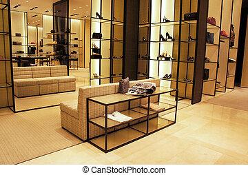 Boutique shop - Interior decoration of boutique shop