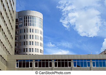 Saratov university building - modern building of Saratov...