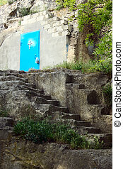 stairs to god