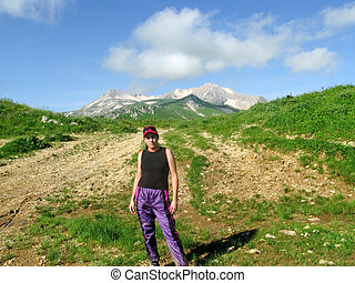 Tourism in the Caucasus Mountains Preserve
