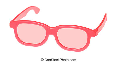 rose-colored glasses - Through rose-colored glasses the...