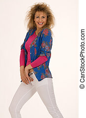 80S-Power - Young model in the latest fashions for spring