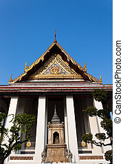Wat Suthat temple in Bangkok - Wat Suthat is a royal temple...