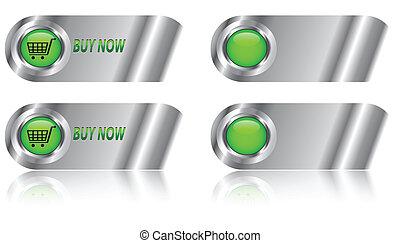 Buy now button/icon set