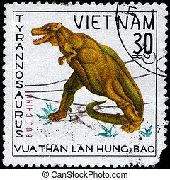 VIETNAM - CIRCA 1978 Tyrannosaurus - VIETNAM - CIRCA 1978: A...