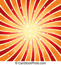 vector abstract background of star burst eps 10