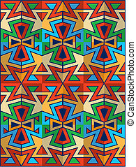 american indian pattern - vector american indian pattern
