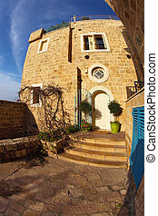 The anciente house - The ancient stone house in Old Yaffo....