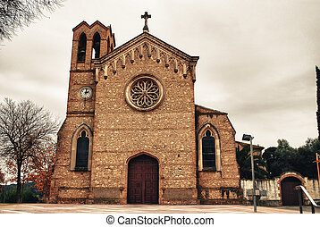 Church, Catalunya, Spain