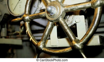 steering wheel - Central control submarines with 189,...