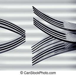 Fork Art - The fork as an art object