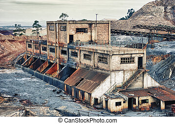 Old large mining industry - Abandoned mines of Tharsis,...