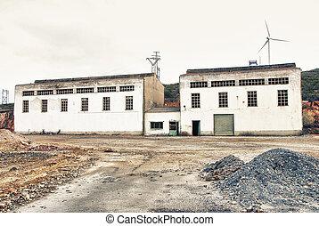 industrial building - Mining industry, Tharsis, Huelva,...