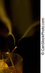 Insense Caressing Your Face - Insense smoke decided to take...