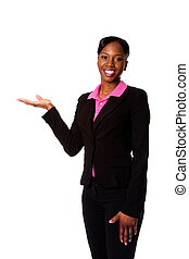 Happy smiling business woman - Beautiful happy smiling...
