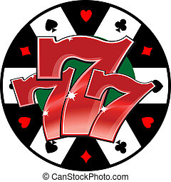 Casino lucky symbol - Lucky symbol of jackpot for success...