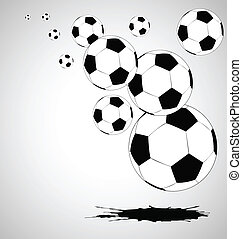 the vector abstract soccer background eps file