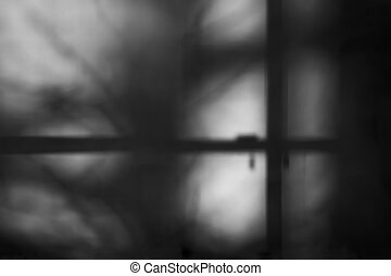 Shadow black and white Backdrop - Shadow on white wall of...