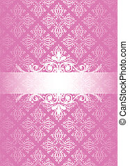 Vector pink vintage background